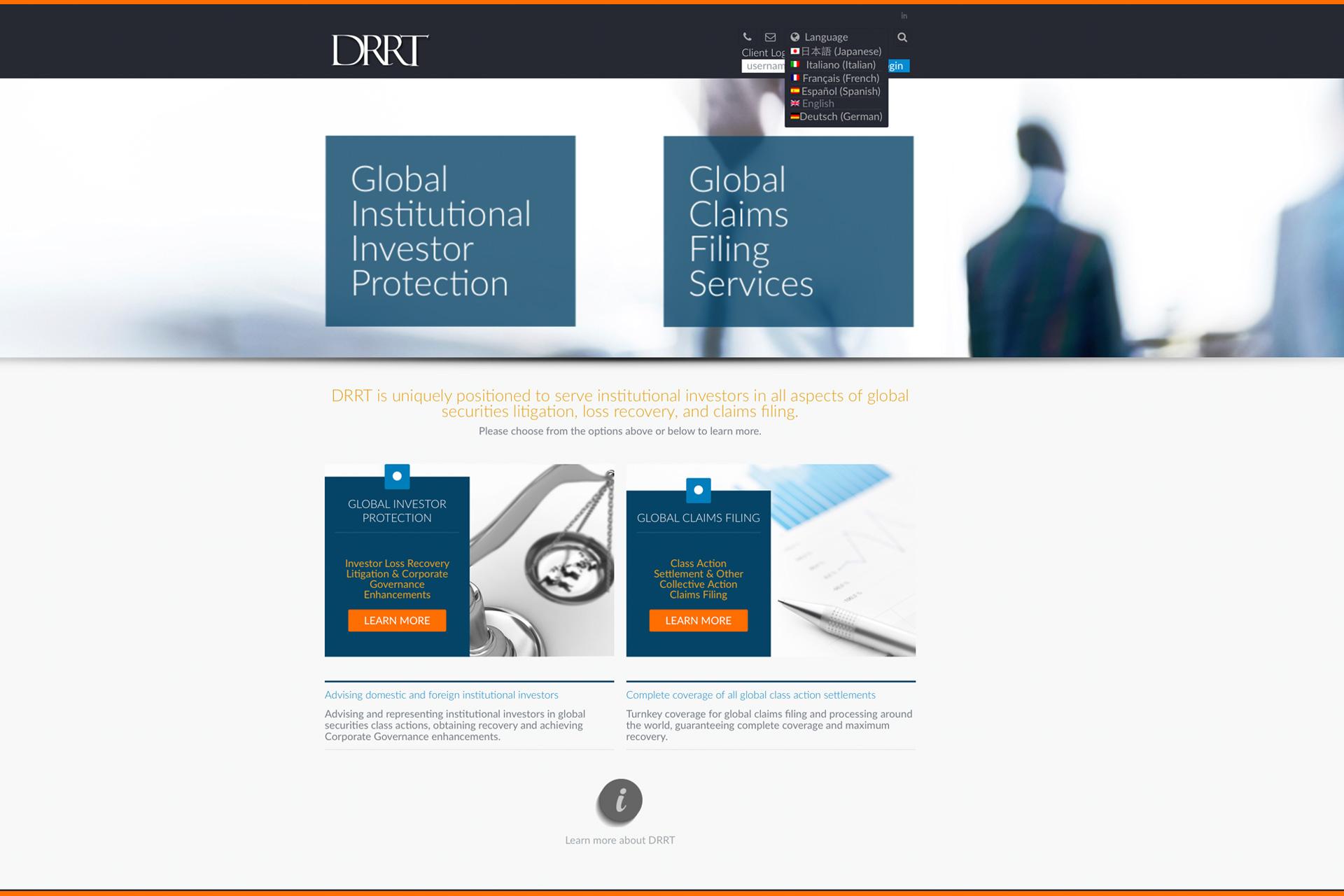 DRRT Websites