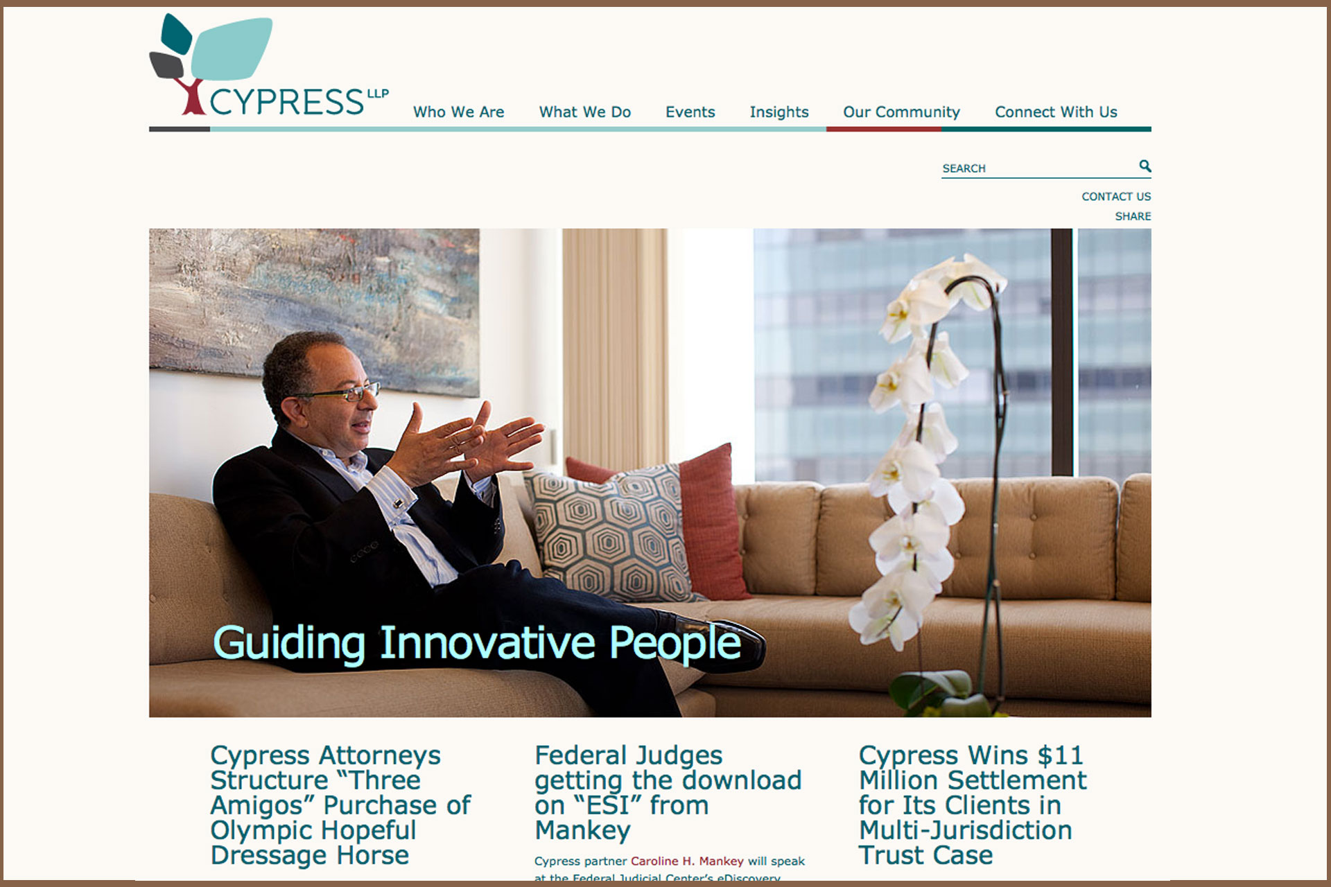 Cypress LLP Website