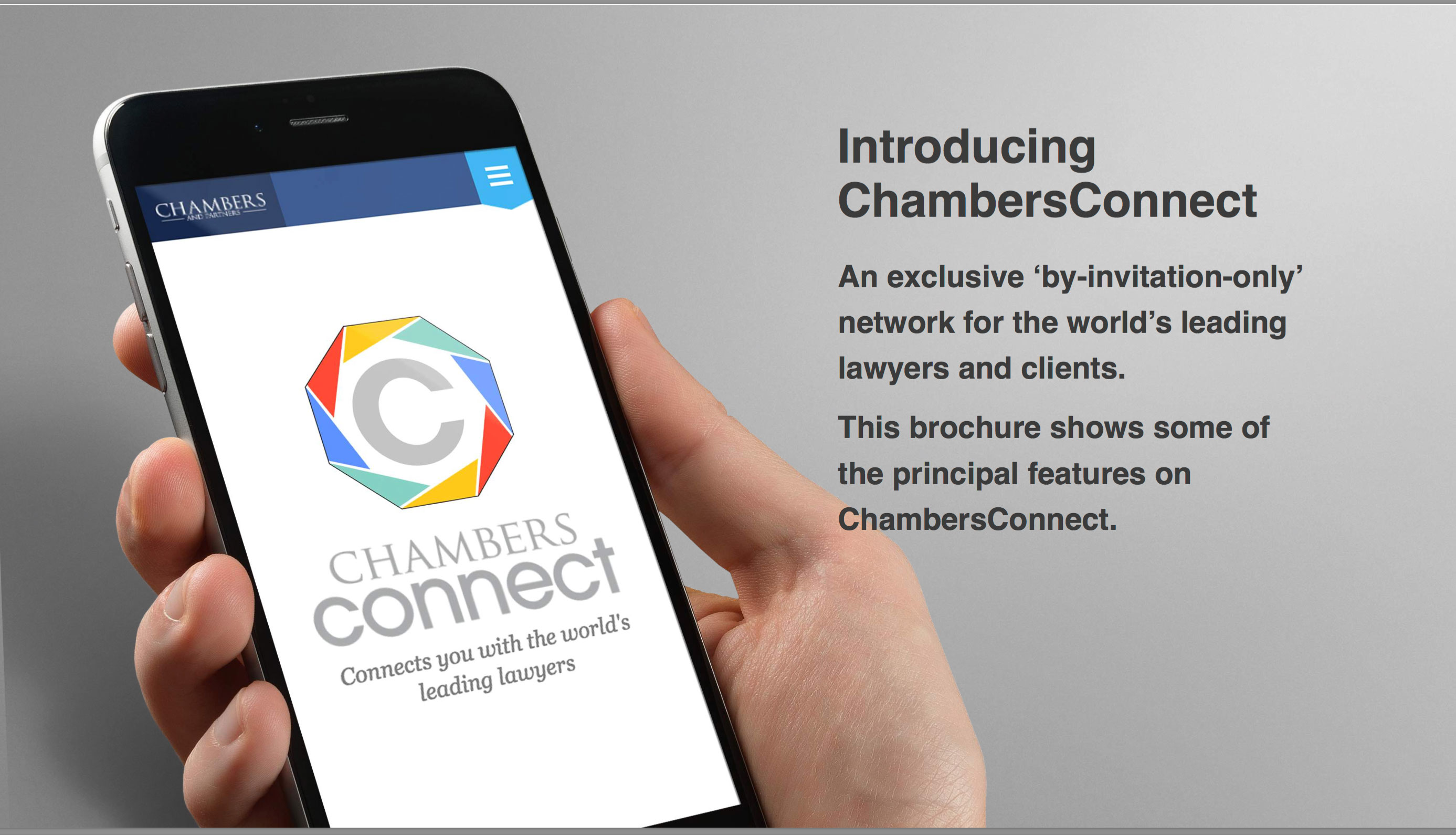 Did you get your invitation to ChambersConnect?
