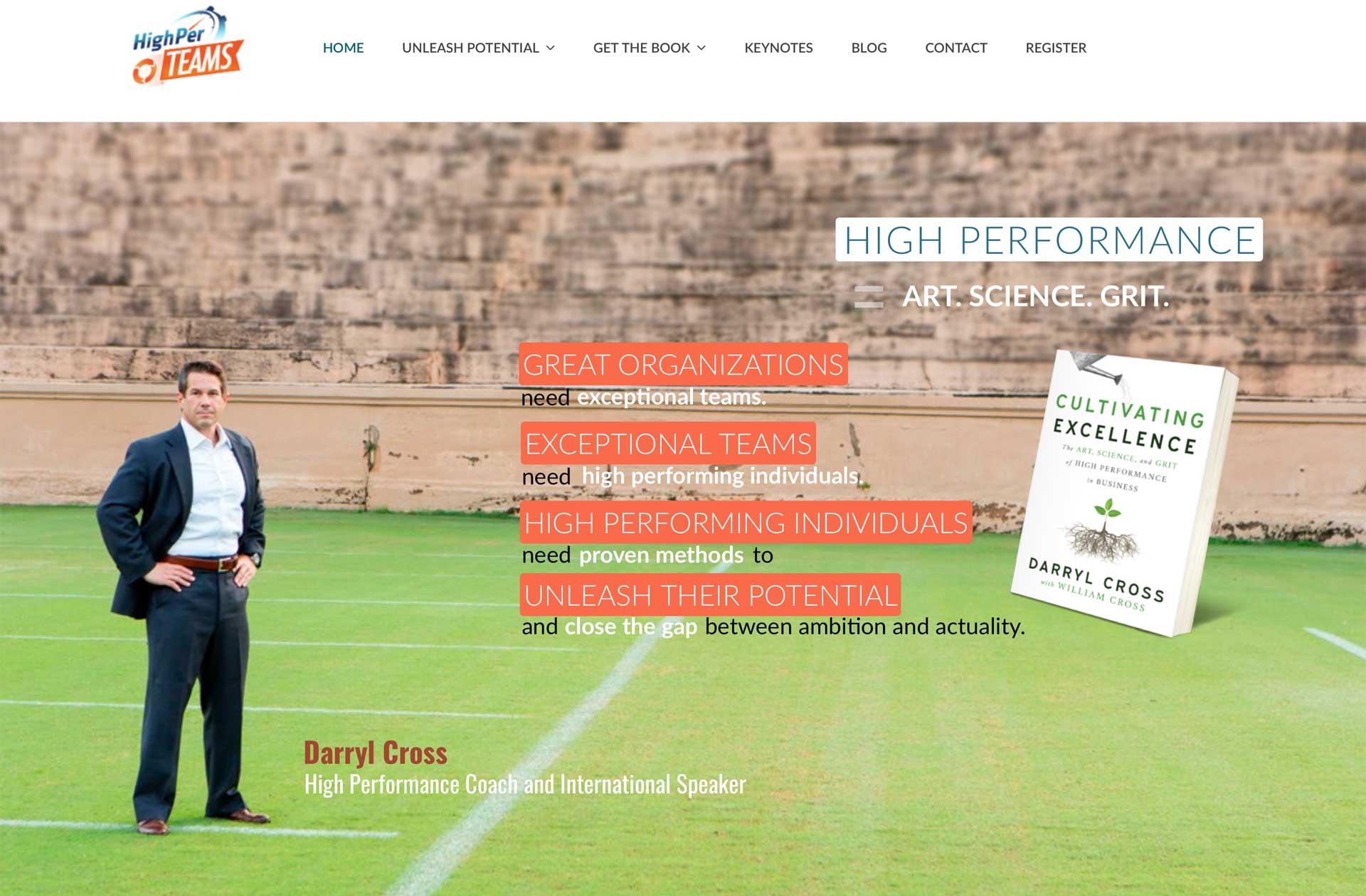 HighPerCoaching Website
