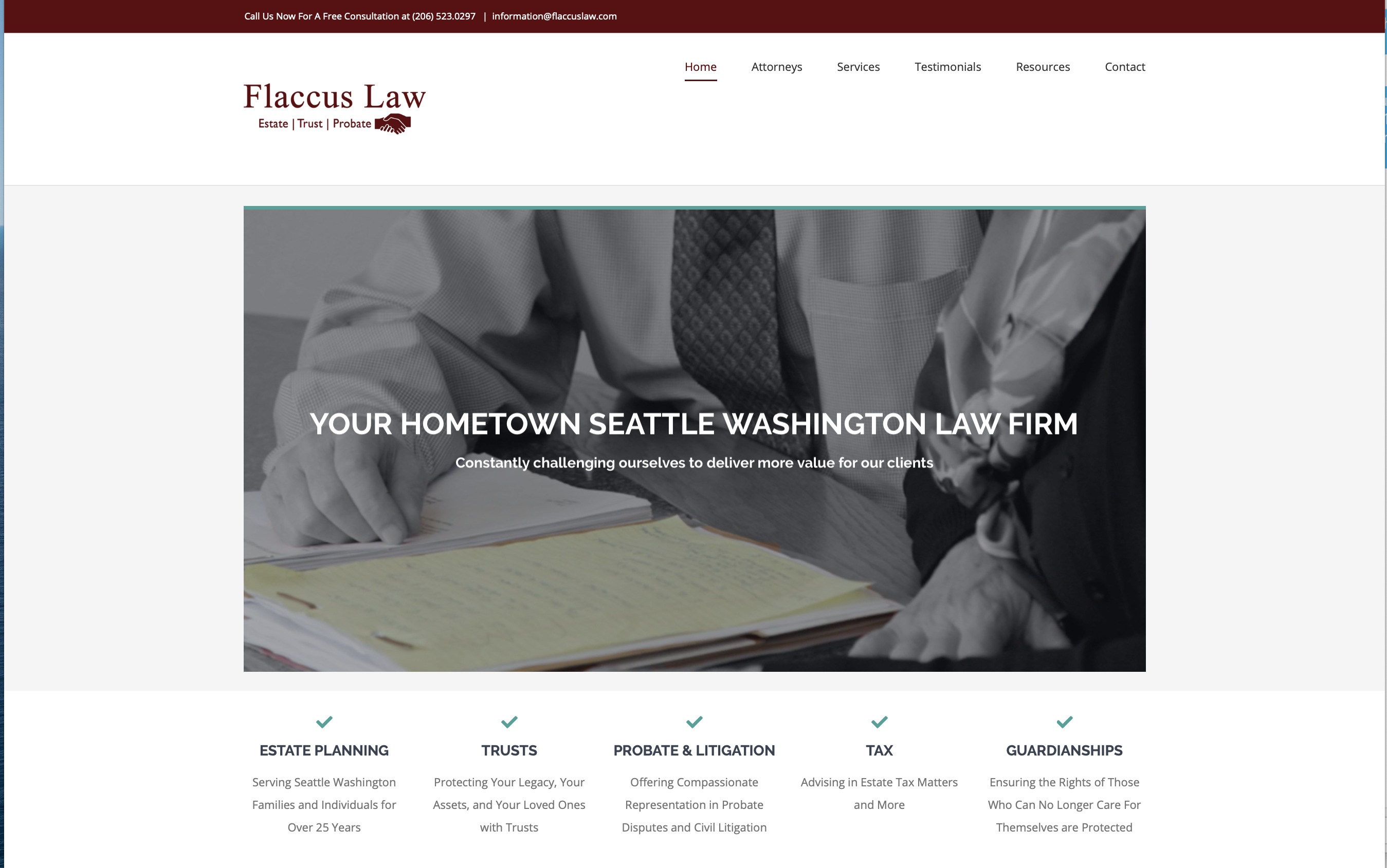 Flaccus Law Seattle Washington