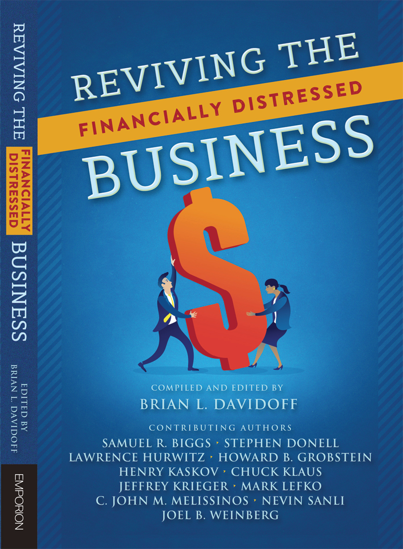 Reviving the Financially Distressed Business Book Cover